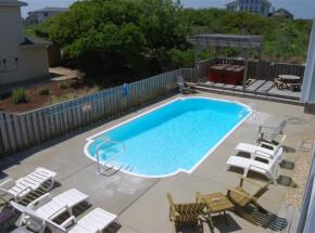 The pool at SUN 'N STARS