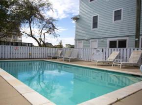 The pool at BEACH BIJOU