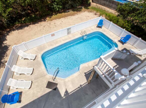 The pool at WHATEVER