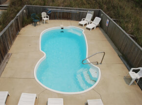 The pool at SWEET ISABEL