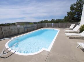 The pool at CAROLINA SUN