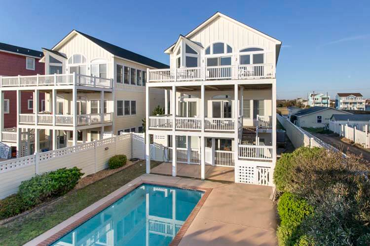 homes designs pictures. ROYAL PALACE Outer Banks Oceanfront  Beach Rentals Carolina Designs