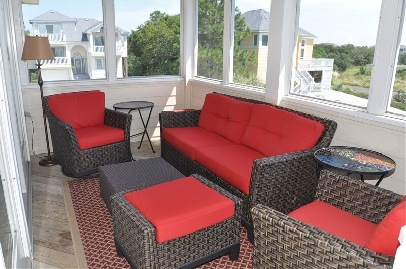 WESTOVER SUNSETS Screened in Porch