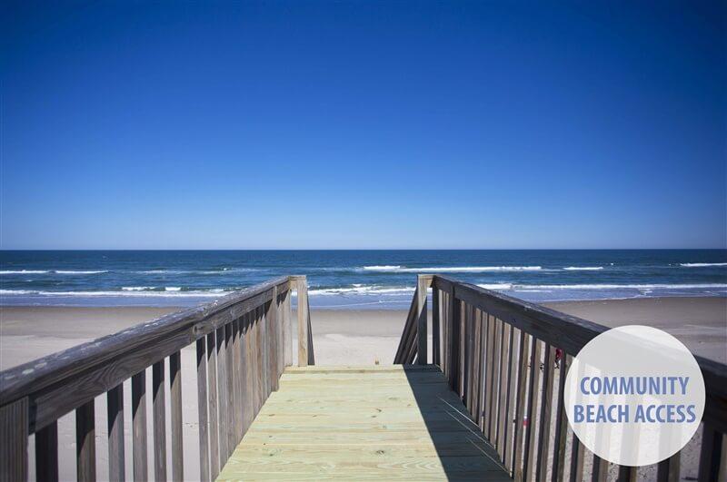 SEA FOREVER Community Beach Access Location