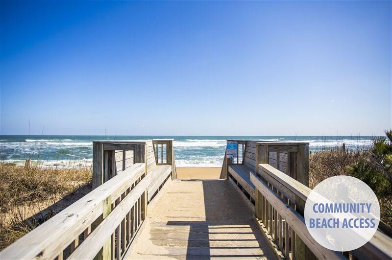 DUCK A L'ORANGE Community Beach Access
