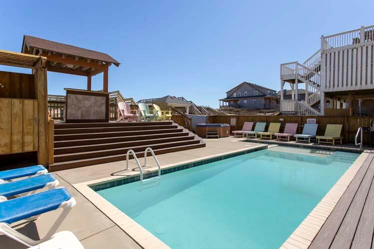 PlayWright View/Pool Area