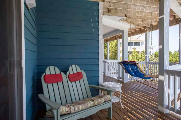 NOT SOON ENOUGH Deck Seating with oceanview