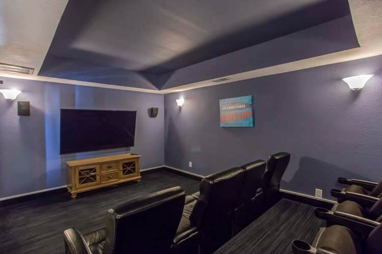 SEA LA VIE Ground Floor Theater Room