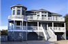 80 yds from Beach Access in Ocean Sands in Corolla rentals