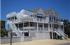 204 yds from Beach Access in Ocean Sands in Corolla rentals