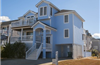 101 yds from Beach Access in Ocean Sands in Corolla rentals