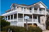 256 yds from Beach Access in Ocean Sands in Corolla rentals