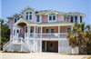 360 yds from Beach Access in Ocean Sands in Corolla rentals