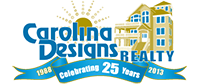 This property is exclusively represented by Carolina Designs Realty, Inc.