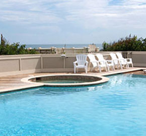 Private Heated Pool. Many Of Our Vacation Oceanfront Rentals ...